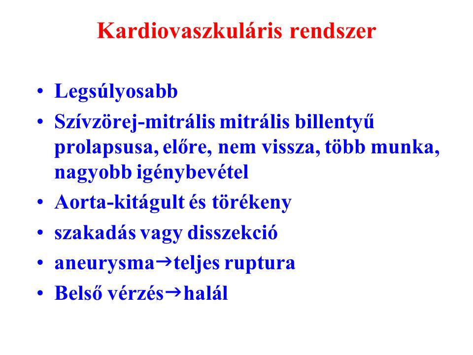 nem specifikus kötőszöveti betegségek)