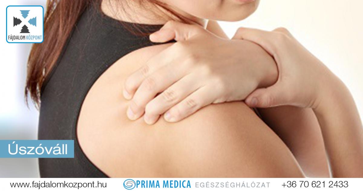 krónikus fájdalom a vállízületekben)