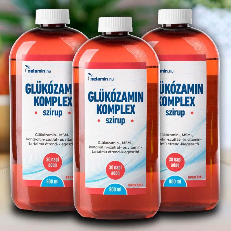 kondroitin és glükozamin folyadék