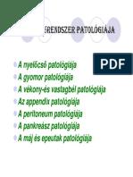 csípőbetegségek nevei)