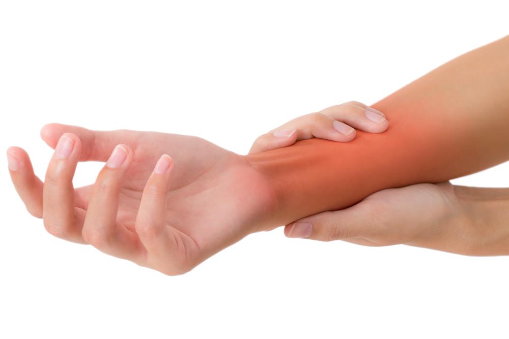 a kéz könyökízületének gyulladása