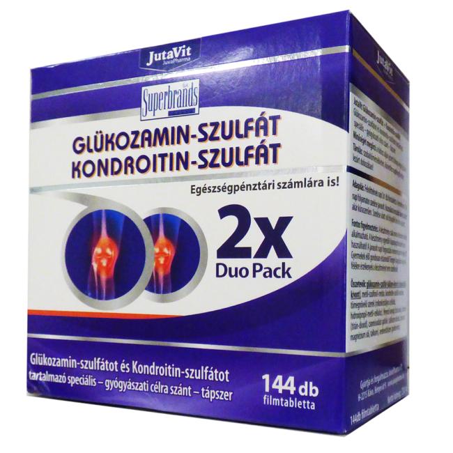 glükózamin és kondroitin az ízületek kezelésére)