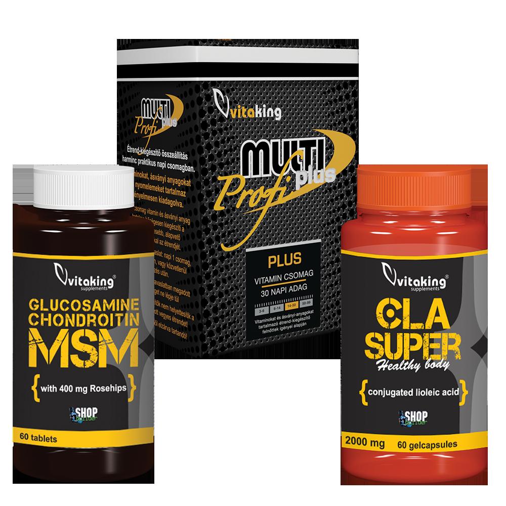 8 az 1-ben glükozamin-kondroitin