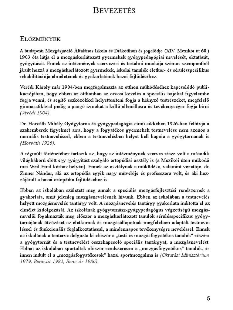 térdstabilitás konzervatív kezelés)