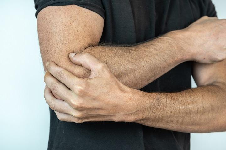 enyhítse a kéz könyök fájdalmát az ízület artrózisának standard kezelése