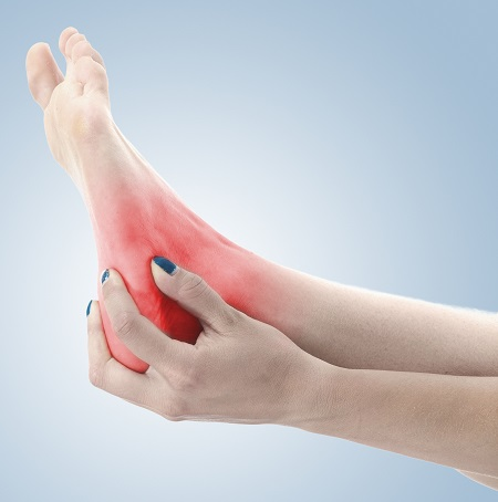 fájdalom a bokán)
