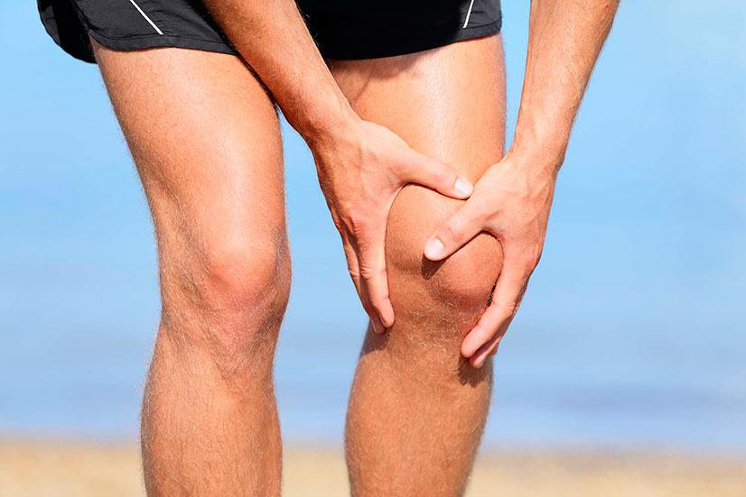 fájdalom a térd hemarthrosisával a csípőízület 2. fokú deformáló artrózisa