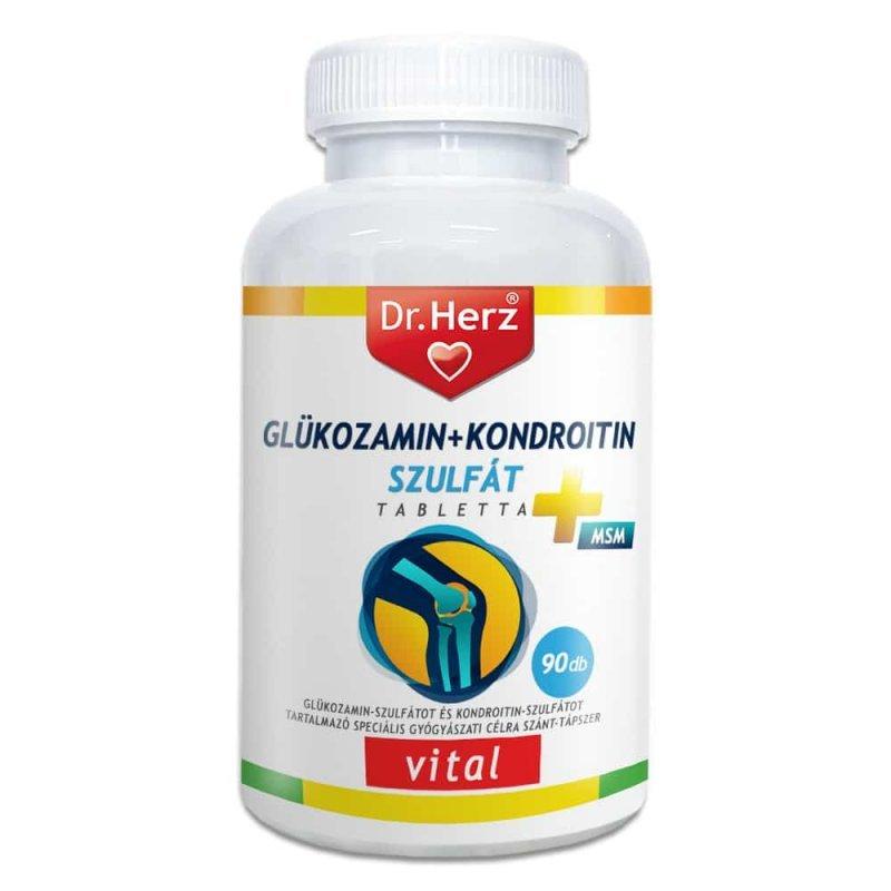kondroitin és glükozamin készítmények áttekintése térdízület behelyezése