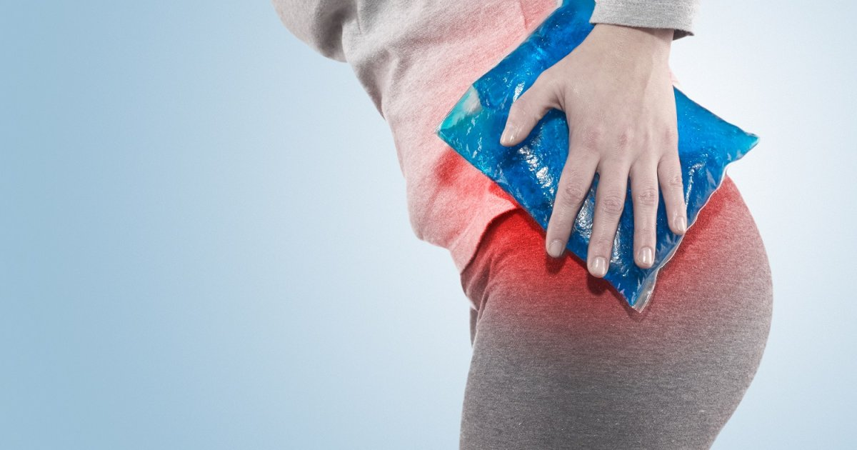 Krónikus derékfájdalom és a női csípőfájdalom