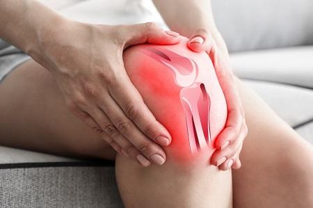 szúró térdfájdalom boka akut gyulladása