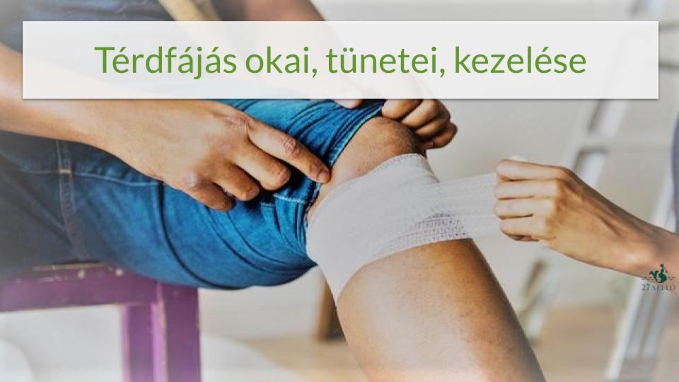térdízületek fájdalmainak kenőcs kezelése