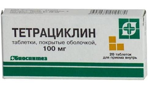 ízületi tetraciklin kezelés