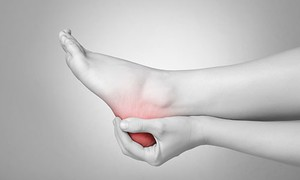 fájdalom a boka ligamentumában vagy ízületében
