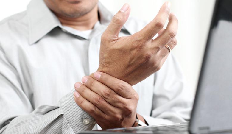 kézmasszázs ízületi gyulladás esetén