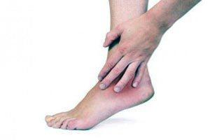 a bokaízület szokásos diszlokációjának kezelése