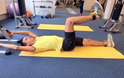 Az edzés gonarthrosis (videó)