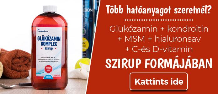 glükozamin-kondroitin és ízületi gyulladás