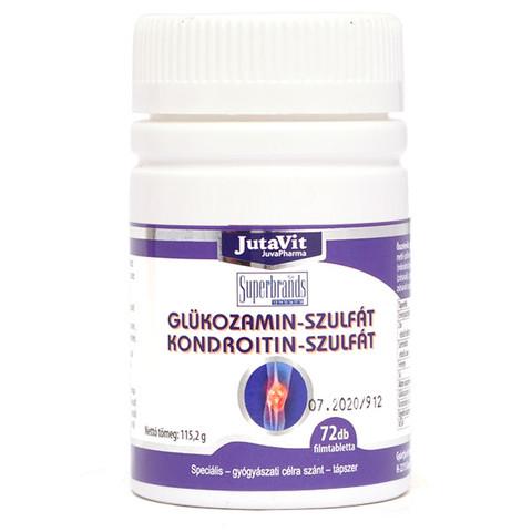 glükózamin és kondroitin hatékonyság