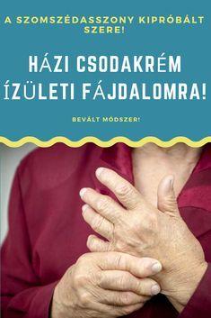 tanácsos kenőcs ízületi fájdalmak esetén a hüvelykujj ízülete