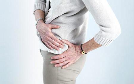 fájdalom a csípőízületben, amikor megnyomják