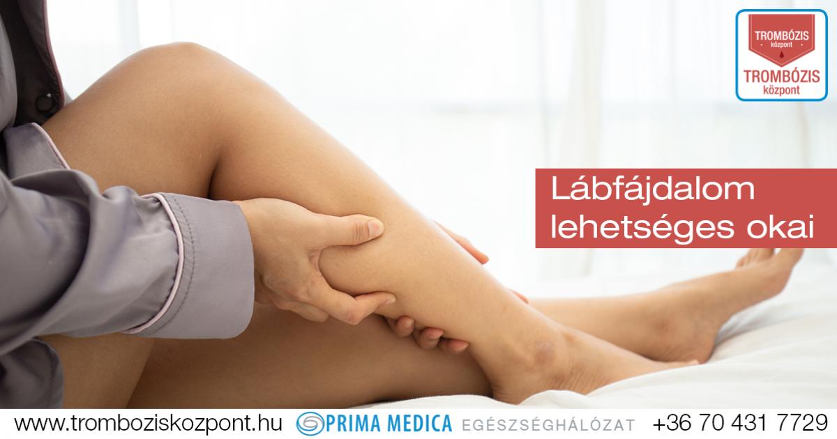 lábfájdalom gyógyítása)