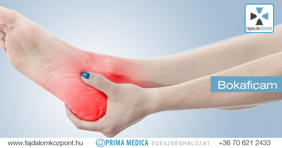 hogyan lehet enyhíteni a boka duzzanatát sérülés után