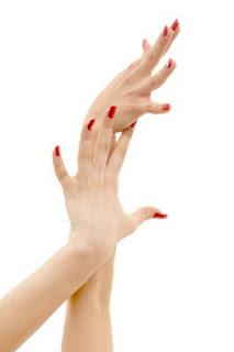 Kúp az ujjak falán