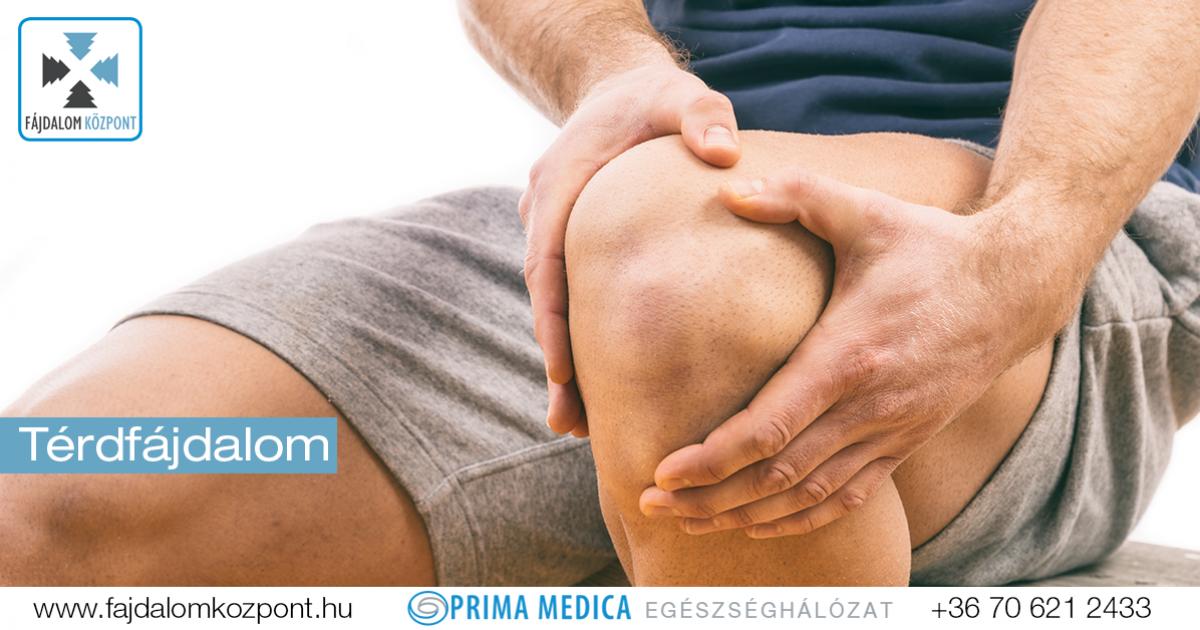 térdízületi fájdalom kezelése járás közben)